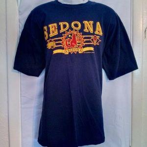 Jerzees Navy Sedona, Arizona T-Shirt